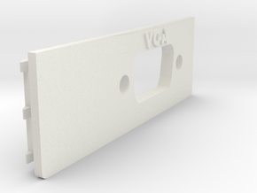 A1200 Rear Expansion VGA in White Natural Versatile Plastic