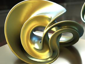 Incendia Ex Sculpture H5 in Polished Gold Steel
