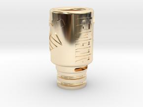 Hayden Driptip for Innokin iSub Apex in 14k Gold Plated Brass