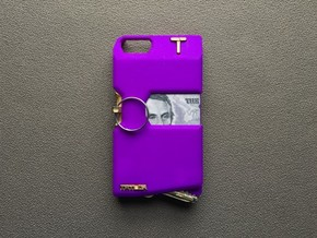 Iphone 5/SE in Purple Processed Versatile Plastic