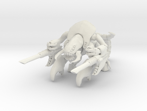 Hellfex 002 Tarantula 28mm in White Natural Versatile Plastic