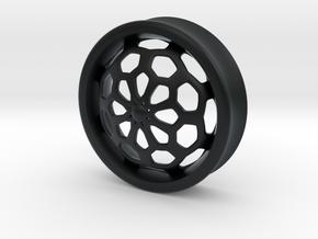 VORTEX1-37mm in Black Hi-Def Acrylate