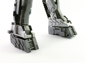 TR Compatible Feet for CW Leader Megatron in White Processed Versatile Plastic