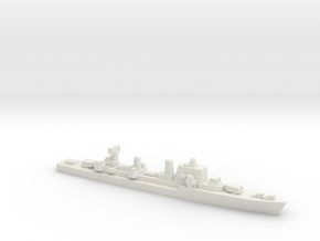 Halland-class destroyer, 1/2400 in White Natural Versatile Plastic