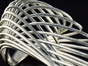 Liquid Tension* - Ring in Natural Silver