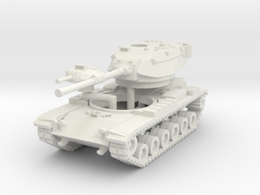 MG144-US02A M60A1 MBT in White Strong & Flexible