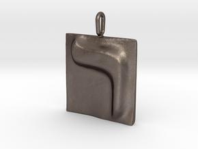 20 Resh Pendant in Stainless Steel