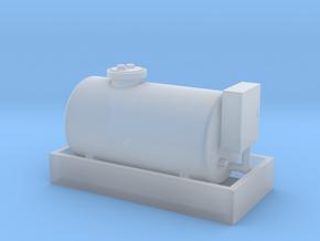 HO - Diesel Tank 1000L in Smooth Fine Detail Plastic