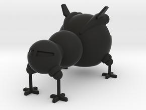 Starbug 120mm in Black Natural Versatile Plastic