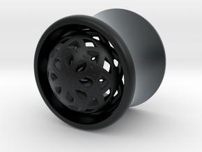 VORTEX2-11mm in Black Hi-Def Acrylate