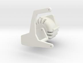 LS3 Alternator W/ Mount 1/12 in White Natural Versatile Plastic