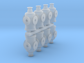 HO Scale Switch Lanterns in Smooth Fine Detail Plastic