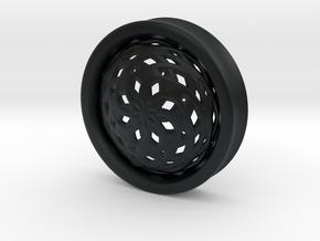 VORTEX3-45mm in Black Hi-Def Acrylate