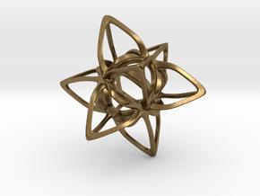 Merkaba Curvacious P in Natural Bronze