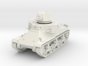 PV36 M2 Medium Tank (1/48) in White Strong & Flexible