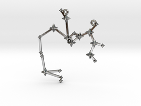 The Constellation Collection - Sagittarius in Polished Silver