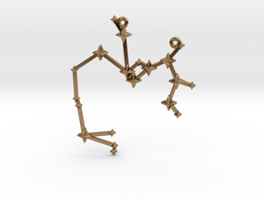 The Constellation Collection - Sagittarius in Natural Brass