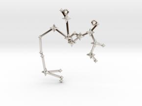 The Constellation Collection - Sagittarius in Platinum