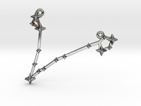 The Constellation Collection - Pisces in Polished Silver