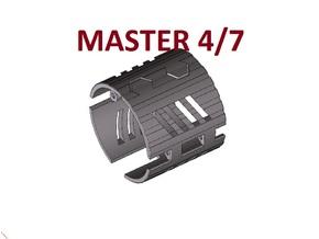 Graflex2.0 - Master Chassis - 4/7 Shell 3 in White Strong & Flexible