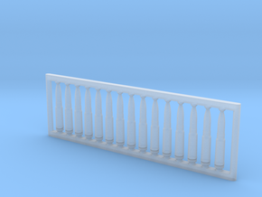 13x64 mm 1:6 scale  x15 in Smooth Fine Detail Plastic: 1:600