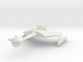 Ktinga Class BattleCruiser   Small in White Natural Versatile Plastic: Small