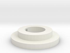 Katana Saber Tsuba 3 in White Natural Versatile Plastic