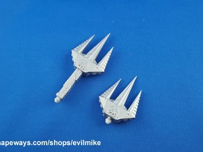 200X Spike Trident Two-Pack in White Processed Versatile Plastic