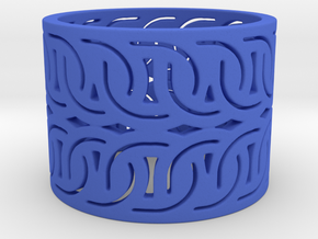 Motion Ring (size 4-13) in Blue Processed Versatile Plastic: 7 / 54