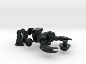 Schwerer Tauch-bot / Heavy Dive-bot (6mm ball) 03 in Black Hi-Def Acrylate
