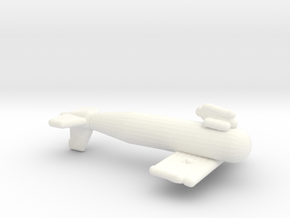 1/144 Scale IJN Paravane in White Processed Versatile Plastic