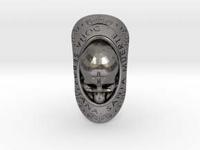 SANTISIMA MUERTE in Polished Nickel Steel: 9.5 / 60.25