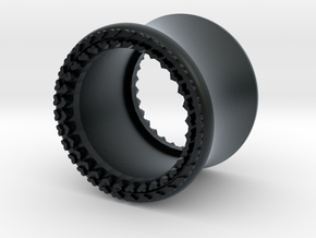 VORTEX8-12mm in Black Hi-Def Acrylate
