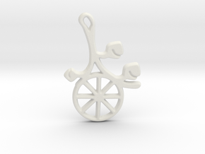 Earthly Spring Year Wheel by ~M. in White Natural Versatile Plastic