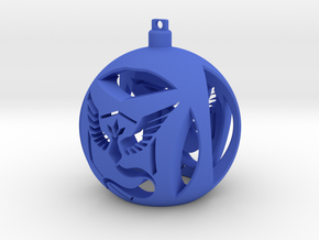 Team Mystic Christmas Ornament Ball in Blue Strong & Flexible Polished