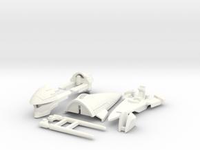 VF-4A Custom Head Unit in White Processed Versatile Plastic