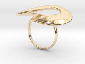 SWOOP RING in 14K Yellow Gold: Medium
