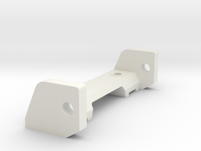 Front axle for 1:32 slot car chassis in White Natural Versatile Plastic