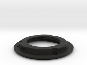 FDn to EF Mount in Black Natural Versatile Plastic