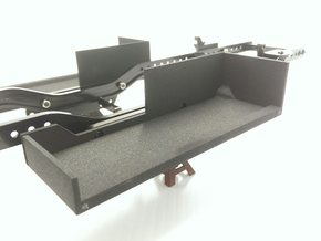 CMAX+D90 RC4wd LEFT Battery Tray in Black Natural Versatile Plastic