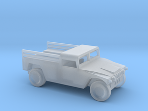 1/100 Scale Humvee Cargo Carrier in Smooth Fine Detail Plastic