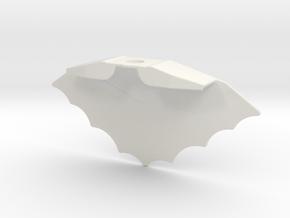 Cape4 in White Natural Versatile Plastic