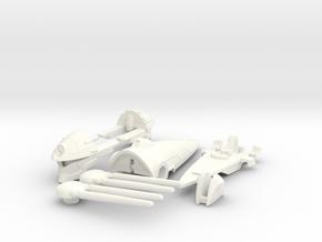 VF-4S Custom Head Unit in White Processed Versatile Plastic