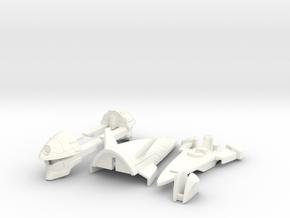 VF-4F Custom Head Unit in White Processed Versatile Plastic