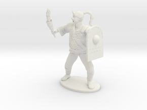 Goblin Miniature (MM Cover) in White Natural Versatile Plastic: 1:60.96