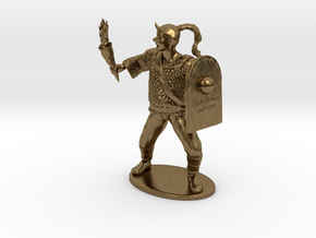 Goblin Miniature (MM Cover) in Natural Bronze: 1:60.96