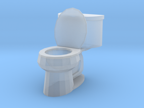 Toilet Open in Smoothest Fine Detail Plastic: 1:64 - S