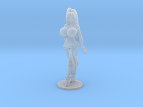 Veronika Red RPG 40mm Mini in Smooth Fine Detail Plastic