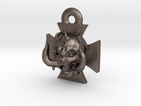 Motorhead Warpig Keychain in Stainless Steel