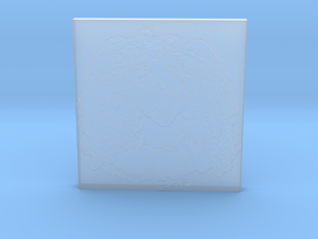 Abundance Horseshoe 1 Tile by Gabrielle in Smooth Fine Detail Plastic